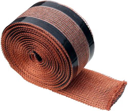 moosfree kupferband aus draht gegen moos und flechten auf dem dach